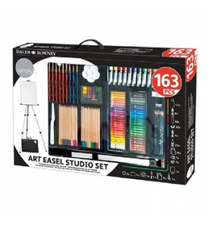 Kit Pinturas Complete Art Easel Studio Set 163un