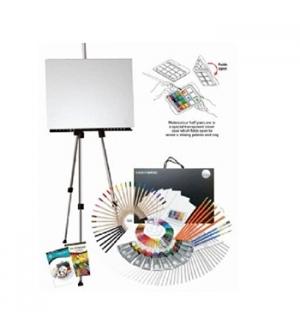 Kit Pinturas Complete Art Easel Studio Set 163un