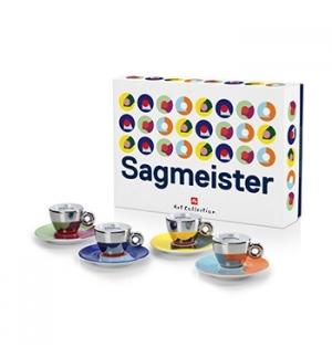 Conj Chav+Pires Esp Illy Art Collection Iac Sagmeister 4un