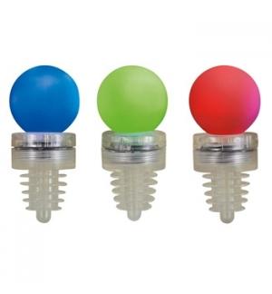 Rolhas Garrafa LED RGB (certificadas) Pack 3un