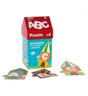 Jogo Puzzle Apli Casinha ABC Alfabeto 40 Peças