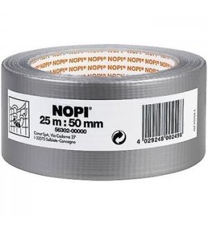 Fita Adesiva Tecido (Duct tape) NOPI 50mmx25m Prata 1un