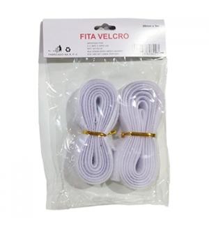 Fitas Velcro Cor Branco 20mmx3m