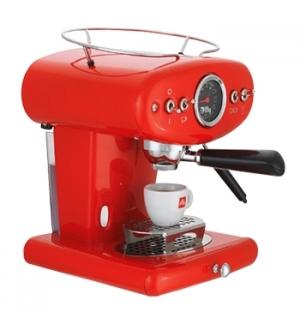 Máquina Café ILLY X1 Aniversário Pastilha / Moido Vermelho