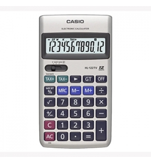 Calculadora de Secretaria Casio HL122TV 12 Digitos