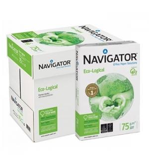 Papel Fotocopia A4  075gr Navigator (Ecological) 5x500Fls