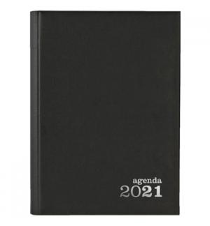 Agenda Diaria Ambar 2021 A5 (140mmX200mm) Preta