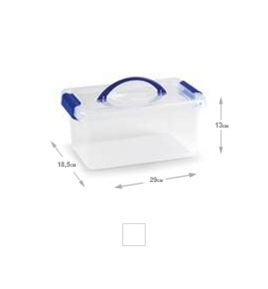 Caixa Plástico 29x18,5x13cm 4L