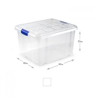 Caixa Plástico 42x36x25cm 25L