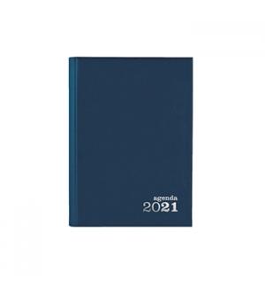 Agenda Diaria Ambar 2021 A5 (140mmX200mm) Azul