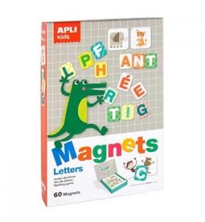 Jogo Educativo Apli Magnético Tema Letras 60 Peças