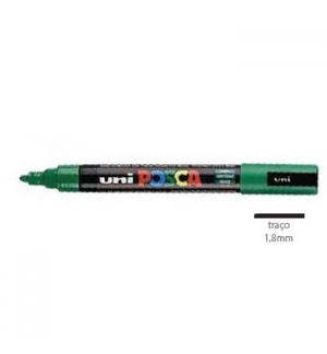 Marcador Uniball Posca PC5M 1,8mm Verde -1un