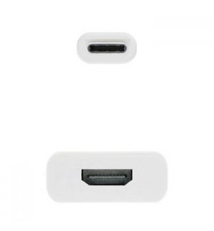 Adaptador USB-C Macho / HDMI 4K Fêmea 15cm
