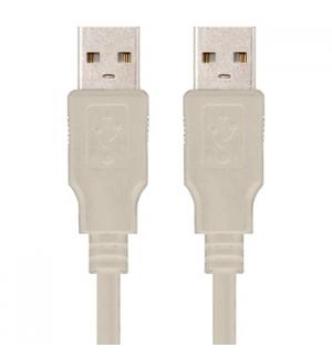 Cabo USB-A 2.0 Macho / Macho 1m