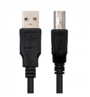 Cabo USB-A 2.0 Macho / USB-B Macho 1,8m