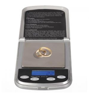 Mini Balança Digital de Precisão 500g / 0.1g