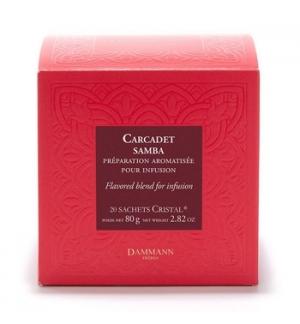Chá Bolsas Carcadet Samba Dammann 20un
