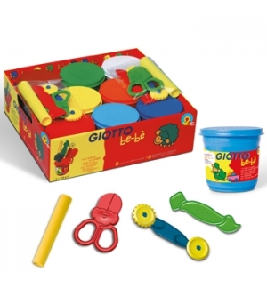 Pasta Modelar Giotto Be-Be 220gr Schoolpack 8+ 8