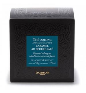 Chá Bolsas Oolong Caramel au Beurre Salé Dammann 25un