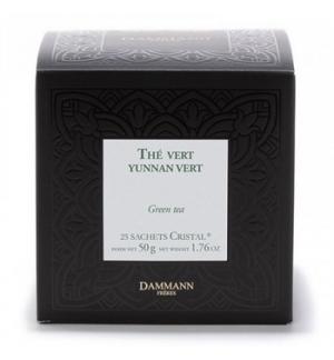Cha Bolsas Chine Yunnan Vert Dammann - 25un