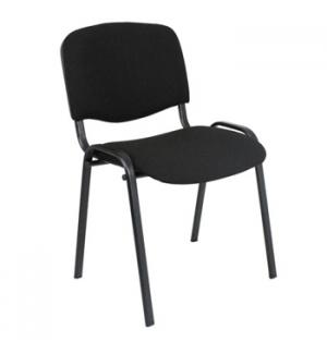 Cadeira de Visitante Iso  Cor Preta