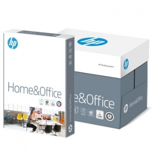 Papel Fotocopia A4 080gr HP Home&Office 5x500fls