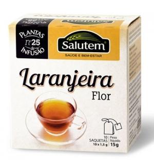 Cha Bolsas Flor Laranjeira Salutem (10 Saquetas)