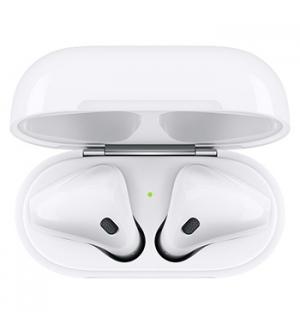 Auriculares Apple Airpods V2 + Caixa de Carregamento
