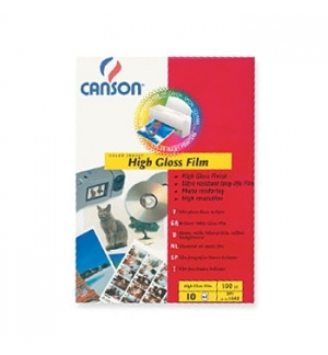 Film Fotog Canson Film Polyest 130g A4 p/InkJet 10F Branco