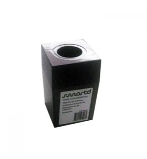 Porta Clips Magnetico quadrado transparente