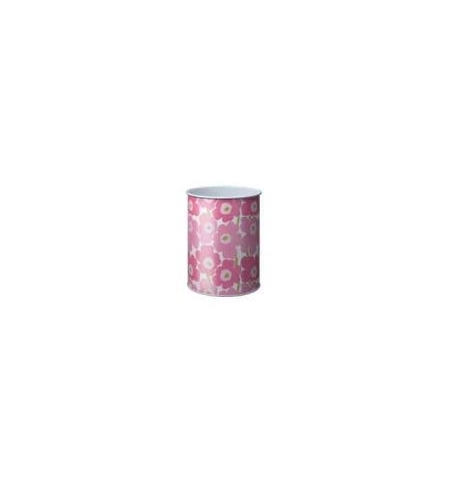 Papeleira Metal 15 Litros Marimekko Rosa