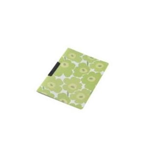 Dossier Plast c/Clip Marimekko 325x245mm Verde-1un