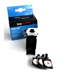 Refill Kit p/Canon PG37/PG40/PG50 Preto