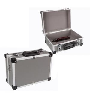 Mala de aluminio cor cinzenta 320x230x155mm