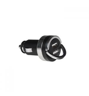 Carregador auto duplo com saida USB 5V - 31A 15W max