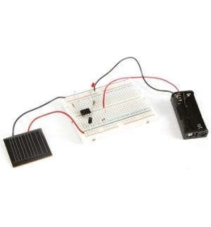 Kit de experiencias sobre energia solar