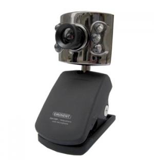iCAM Webcam com iluminacao LED e mic