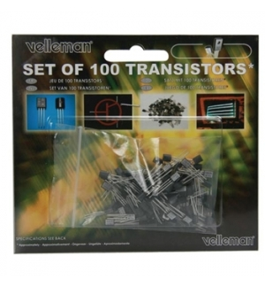 Set de transistores 100un