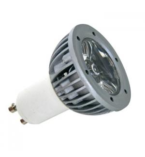 Lampada LED alta qualidade 1W branco frio (6400K) 220V GU10