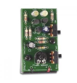 Kit de Estroboscopio com 2 Leds de Alto Brilho