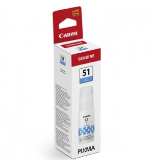 Tinteiro Canon GI-51C Azul 4546C001 70ml 7700 Pág.
