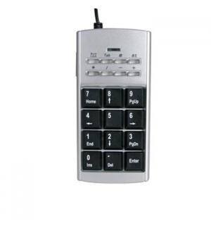 Mini teclado numerico USB c/ telefone internet