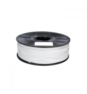 Filamento em PLA de 175 mm - branco - 1 kg