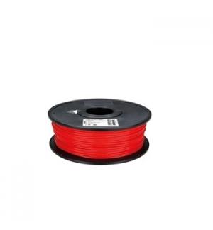 Filamento em PLA DE 3 mm - cor vermelha - 1 kg