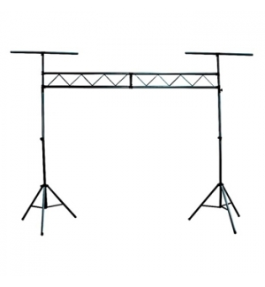 Tripes iluminacao c/ Truss central e 2 T-Bars extra