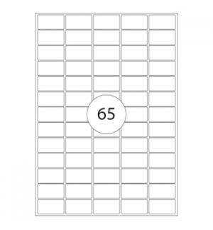Etiquetas 38x21 Xerox 100 Folhas A4 6500un