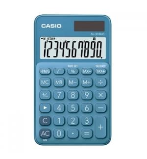 Calculadora de Bolso Casio SL310UCBU Azul Turquesa 8 Digitos