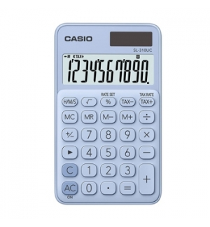 Calculadora de Bolso Casio SL310UCLB Azul Claro 8 Digitos