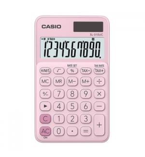 Calculadora de Bolso Casio SL310UCPK Rosa 8 Digitos