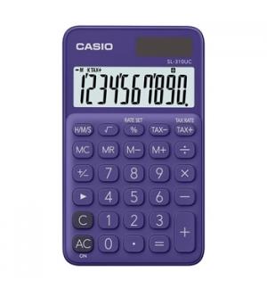 Calculadora de Bolso Casio SL310UCPL Roxo 8 Digitos